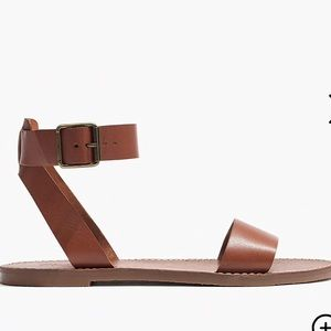 Madewell Shoes - NWT Madewell Boardwalk Ankle-Strap Sandal